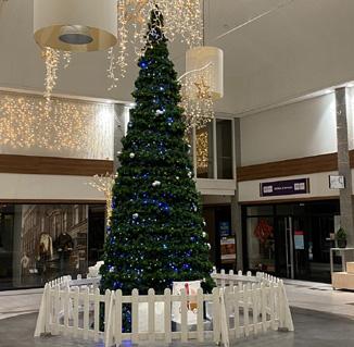 Kerstboom9 meter decoratie